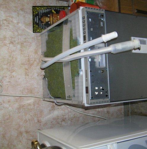 Чтобы посудомоечная машина