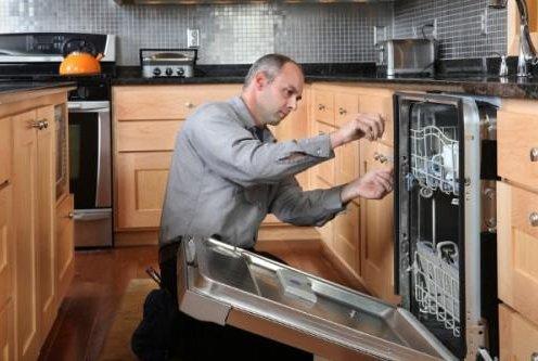 Монтаж посудомоечной